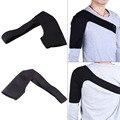1 Pcs Ajustável Respirável Ombro Único Apoio Voltar Brace Guarda Envoltório Belt Banda Bandage Preto 100% Brand New