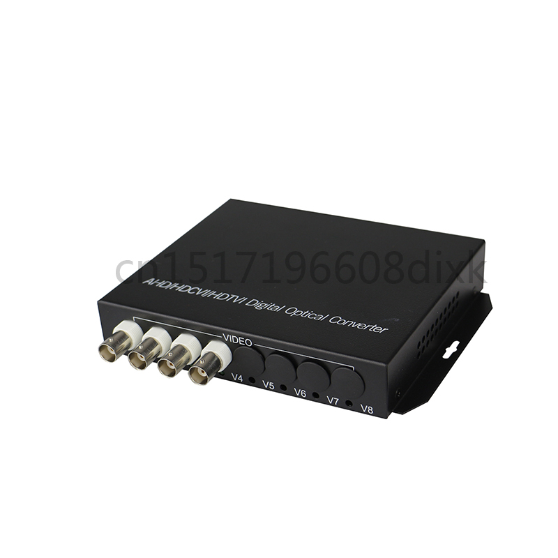Image 3 - HD video AHD CVI TVI Fiber optical converter, 4 CH 720P 960P video fiber optic transmitter with reverse RS485 data-in Fiber Optic Equipments from Cellphones & Telecommunications