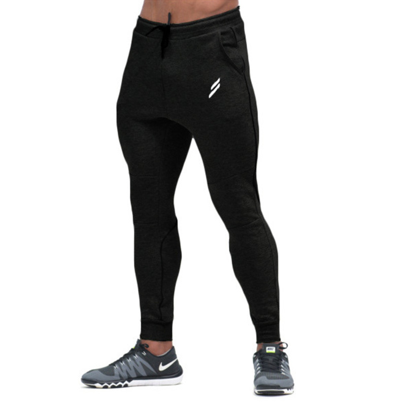 Fashion Casual Trousers Pants For Men Crossfit Gyms Sweatpants Brand Clothing Mens Gyms Fitness Pant Male Bodybuilding Workout