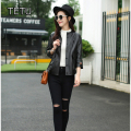 2017 leather jacket women spring designer Genuine Leather Sheepskin fashion Jacket 16232
