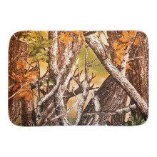 Maple Tree Home Decorative Doormats Soft Lightness Indoor Outdoor Living Room Bathroom Door Mats Short Plush Fabric Floor Mats