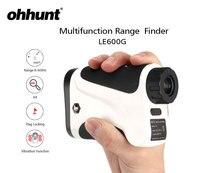 ohhunt 600M Hunting Laser Rangefinder 6X Range Finder Monocular Multifunction Golf Laser Rangefinder With Vibrate Distance