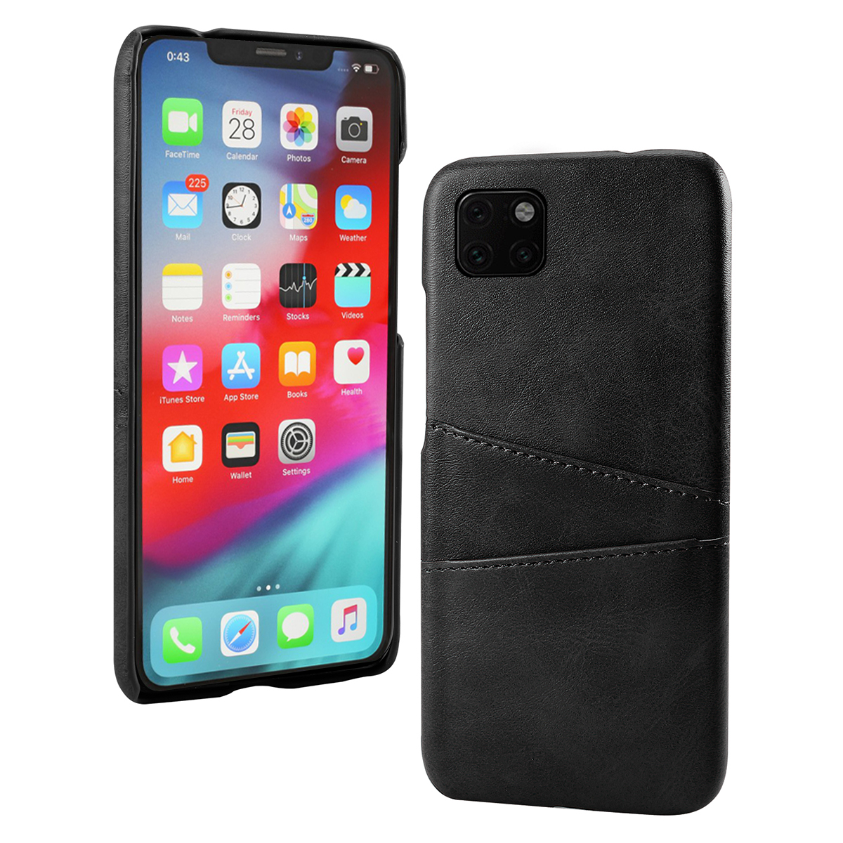 Torubia Leather Card Holder Case for iPhone 11/11 Pro/11 Pro Max 11