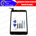 100% Original for Vodafone Smart prime 6 VF-895N VF895N 895 895N Touch Screen Digitizer Glass Panel+Tools