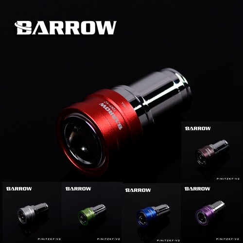 Barrow TZKMF-V2 male to female black silver bold watercooling fitting seal lock quick connector stop water set free shipping barrow black white silver g1 4 thread 90 degree rotary fitting adapter rotating 90 degrees water cooling adaptors twt90 v2 5
