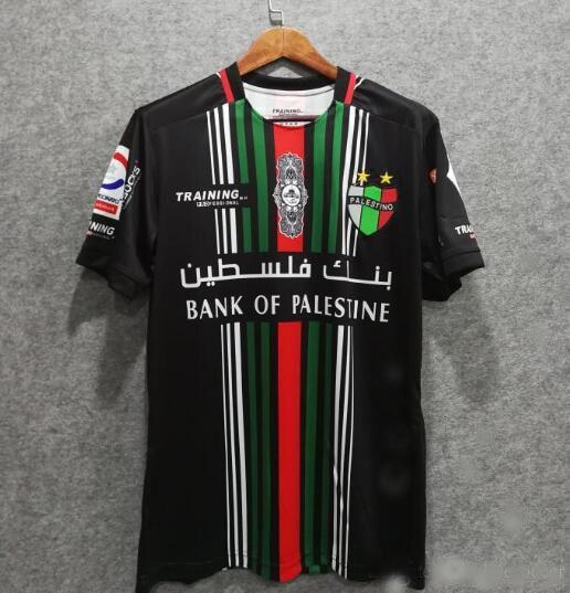 e6cb6437002 2019 2020 new Palestine shirt Top thai quality national shirt Palestine  home sports shirt fast Free