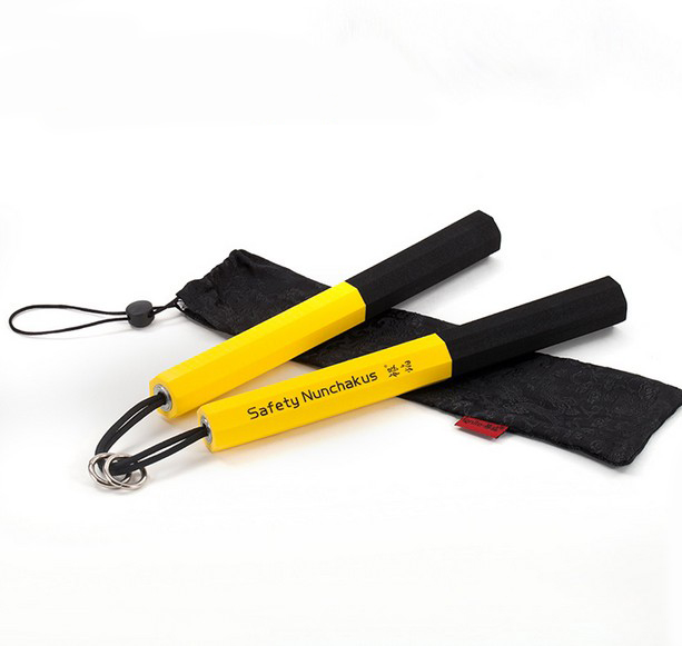 Hot Sell Keselamatan Nunchakus/sponge Foam Shuangjieao/heavy-duty Sponge Nunchakus Martial Arts Training