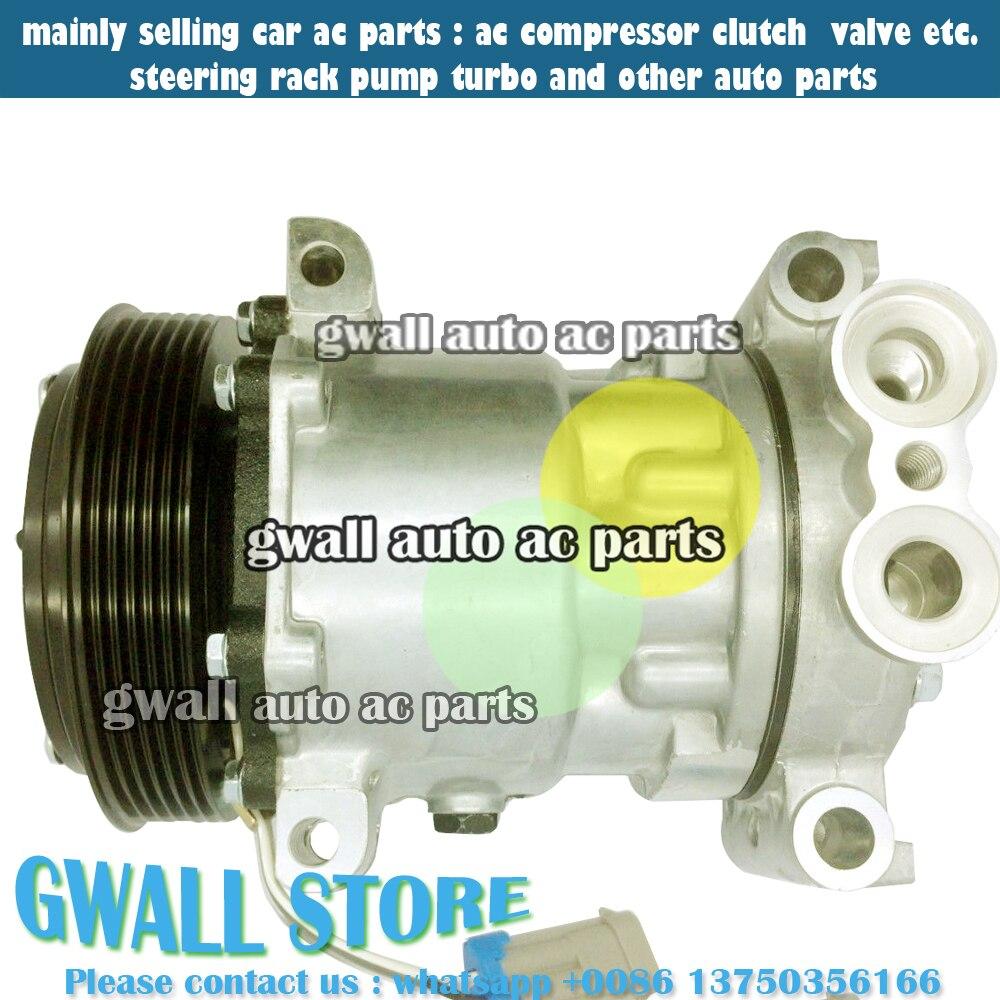 Car auto ac compressor for car gmc c3500hd 6 5l 8 1l v8 diesel ohv turbocharged