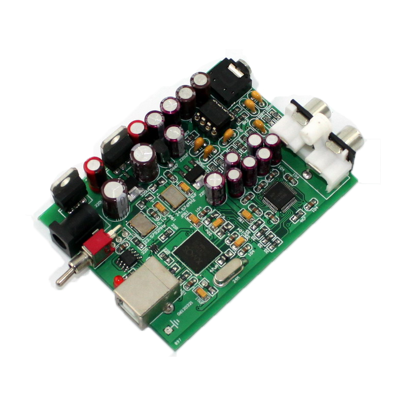 DC9V XMOS U8 + AK4490 USB decoder board Original AK4490, op amp NE5532