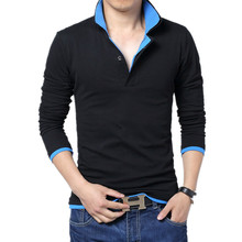 Mens Coat Shirt Men Solid Hot Sale Brand Slim Polo Business Casual Tops Cotton Shirts 5XL