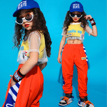 Children Ballroom Jazz Dance Costumes hip-hop Style Students Teams Modern Dance Girls Stage wear Performance Costumes Outfits boys modern jazz dancewear outfits kids hip hop party ballroom dance costumes sweatpants hoodie costumes tracksuit outfits