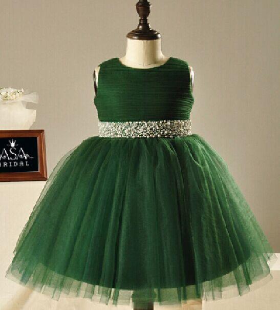 Popular Green Flower Girl Dress-Buy Cheap Green Flower Girl Dress ...