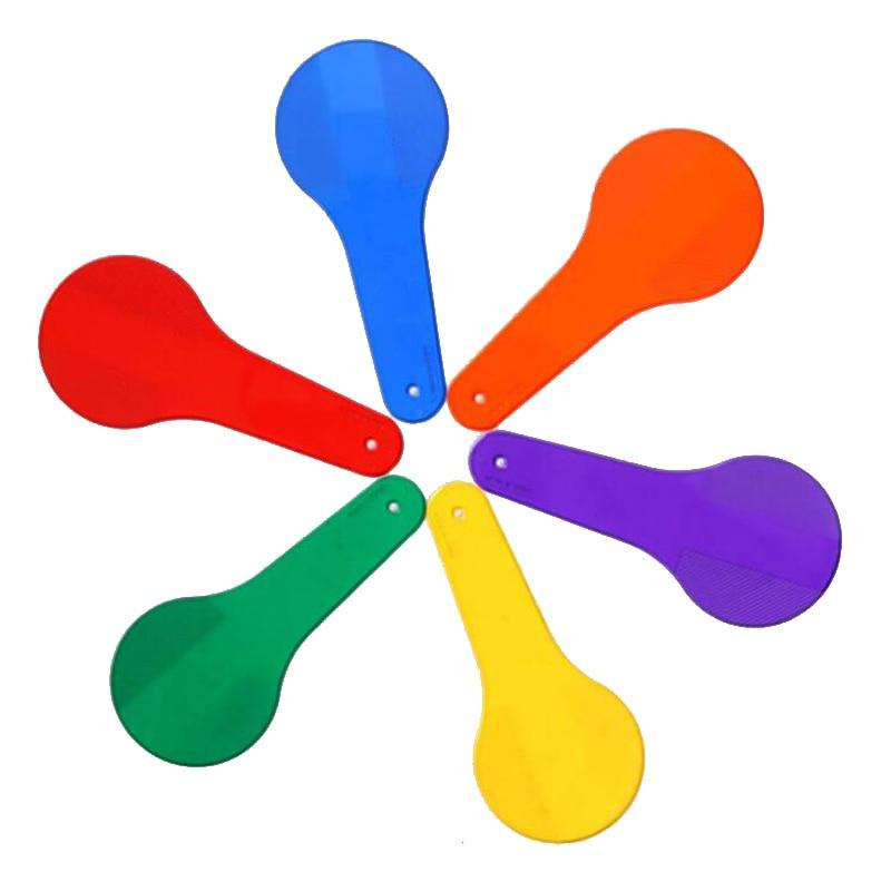 6 kleuren Kid Color Recognition Montessori Materiaal Set Kinderen - Leren en onderwijs