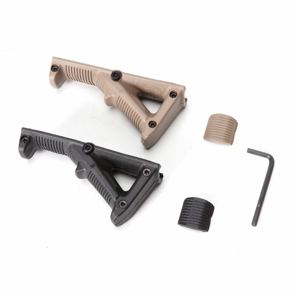 Tactical Second Generation AFG Angled Foregrip with Guide Rail for Nerf Toy Gun Accessories