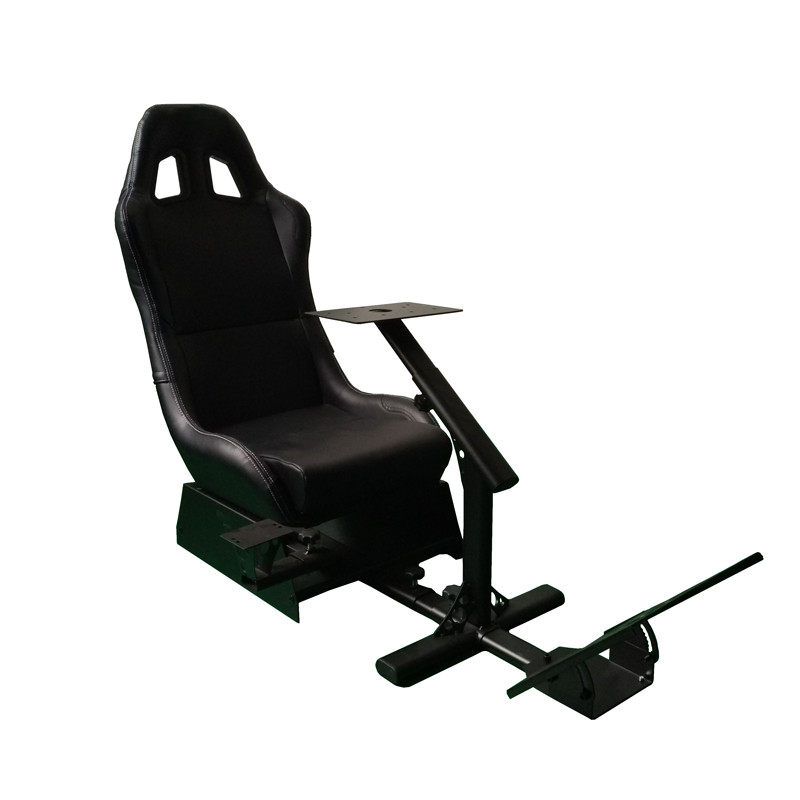 784f0cb5120 Foldable Evolution Cockpit Racing Simulator Seat For Logitech G25 G27 G29