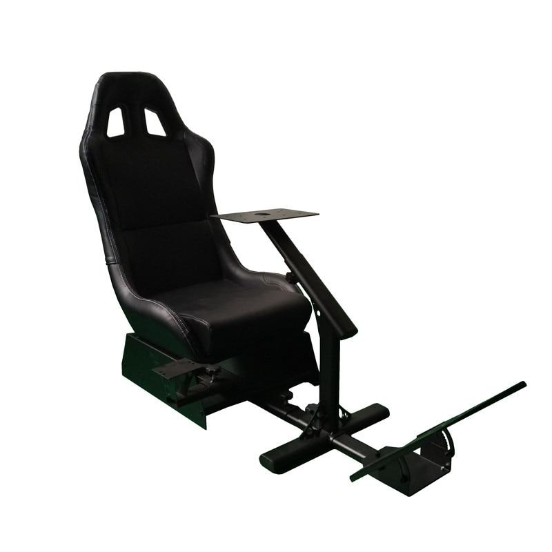 Foldable Evolution Cockpit Racing Simulator Seat For Logitech G25 G27 G29