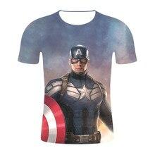 a0423432e NEW Superhero Marvel 3D T-Shirt Men Ironman Spiderman Green Lantern The Hulk  Spiderman Superman Avengers Short Brand Men T Shirt