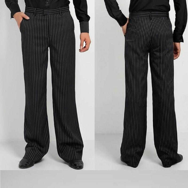 Men/'s Dance Practice Pants Ballroom Latin Pants Stage Costume Trousers Dancewear