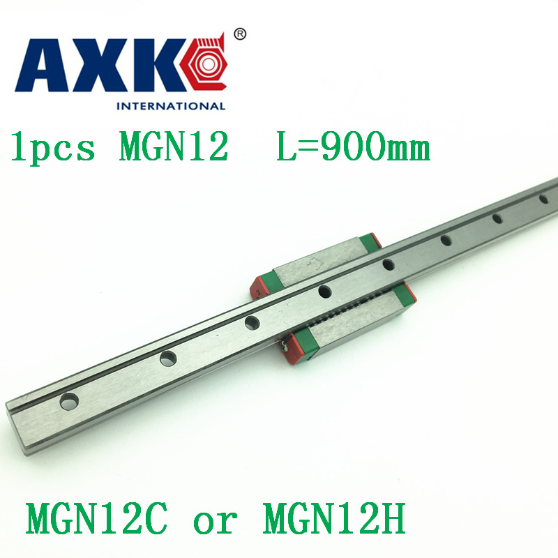 12mm Linear Guide Mgn12 L= 900mm Linear Rail Way + Mgn12c Or Mgn12h Long Linear Carriage For Cnc X Y Z Axis 12mm linear guide mgn12 l 250mm linear rail way mgn12h long linear carriage for cnc x y z axis