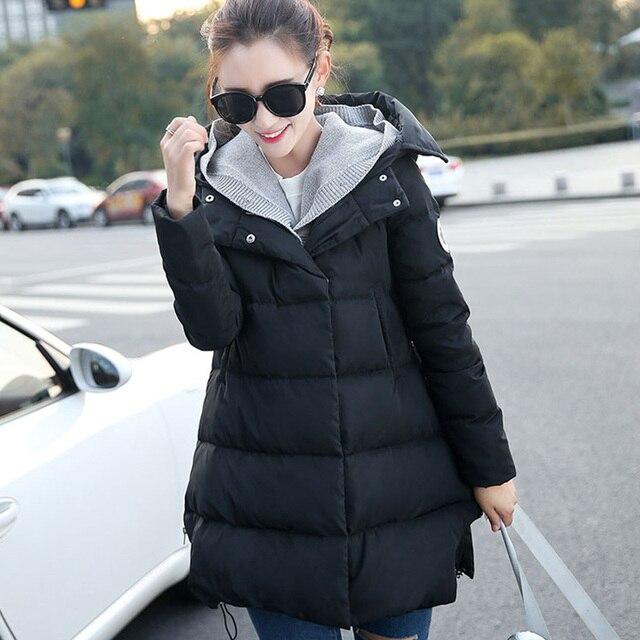 4a206b94f Nueva maternidad invierno cálido abrigo chaqueta de ropa de embarazada ropa  mujer Parkas ropa de invierno