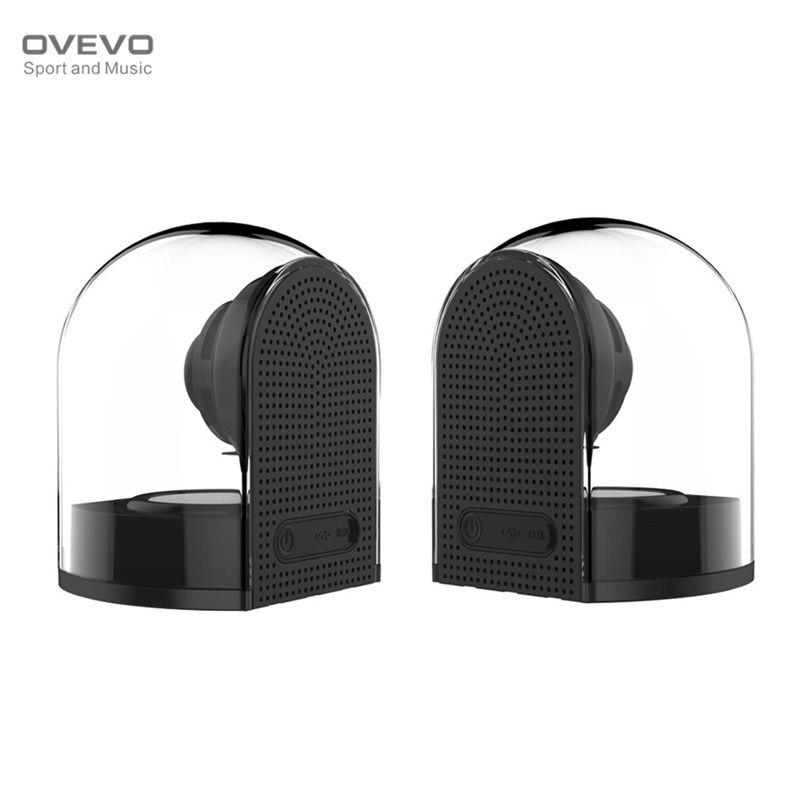 2018 ovevo D18 3D 1 в 2 магнит Bluetooth 4,2 Динамик s с микрофоном прозрачный Главная стерео объемный HiFi телефон PC Открытый Динамик