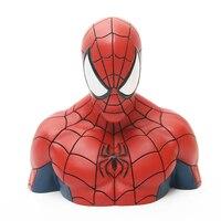 2018 Spider Man Homecoming Avengers Superhero Spider Man PVC Action Figure Toys Piggy Bank Save Money