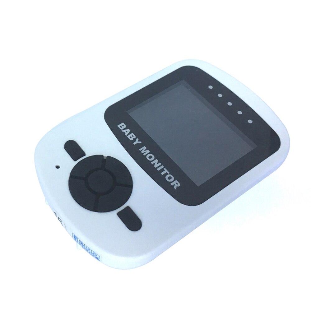 Shujin 2.4 GHz 2.4 pouces écran LCD sans fil bébé moniteur vidéo Vision nocturne surveillance de la température bébé téléphone moniteur Audio - 3