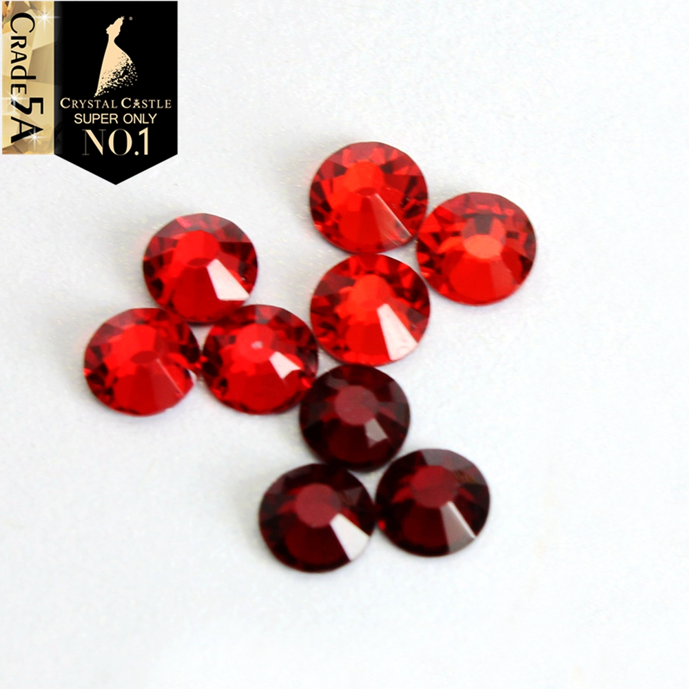 Crystal Castle All Size Light Siam Garnet Red Flatback Iron On Strass Hotfix  Crystal Hot Fix Rhinestone For Fashion Shoes 89633d71216e
