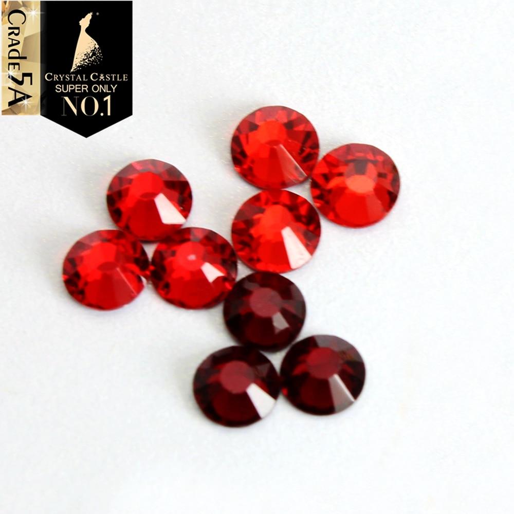 Crystal Castle All Size Light Siam Garnet Red Flatback Iron On Strass Hotfix  Crystal Hot Fix Rhinestone For Fashion Shoes cd3054c2c8ff