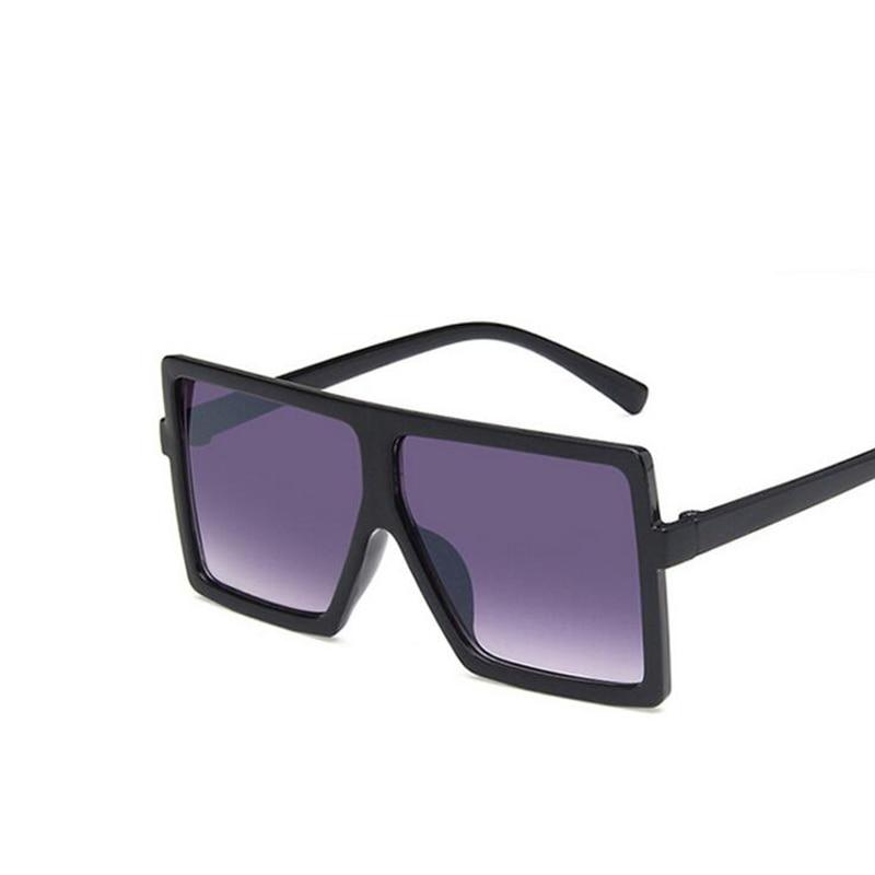 Oversize Square Kids Sunglasses Girls Baby Boys Festival Punk Sunglasses UV400 Glasses Children Oculos De Sol