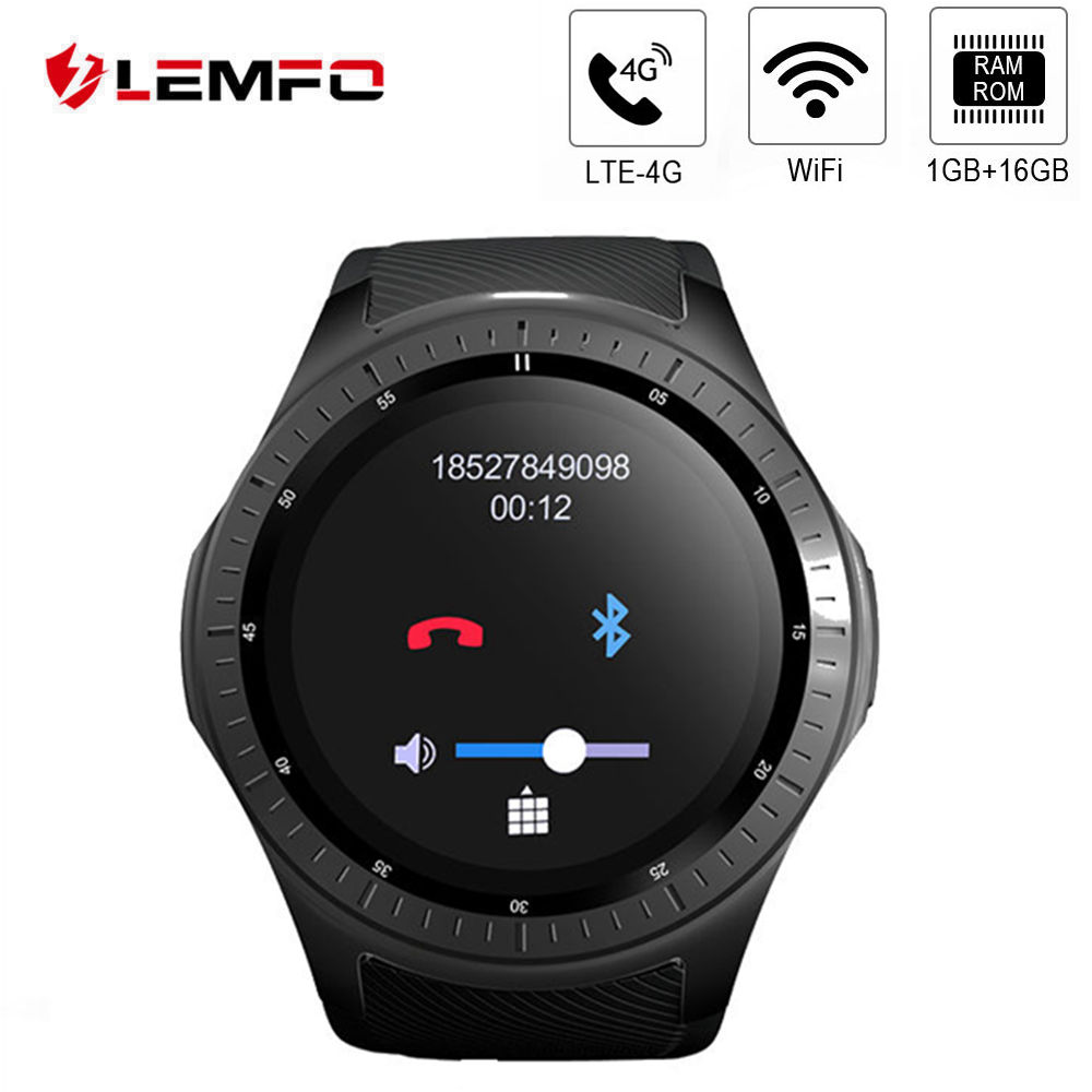 LEMFO LF25 4G Smart watch WIFI Android 7 1 1 1GB 16GB SIM Card Bluetooth 1