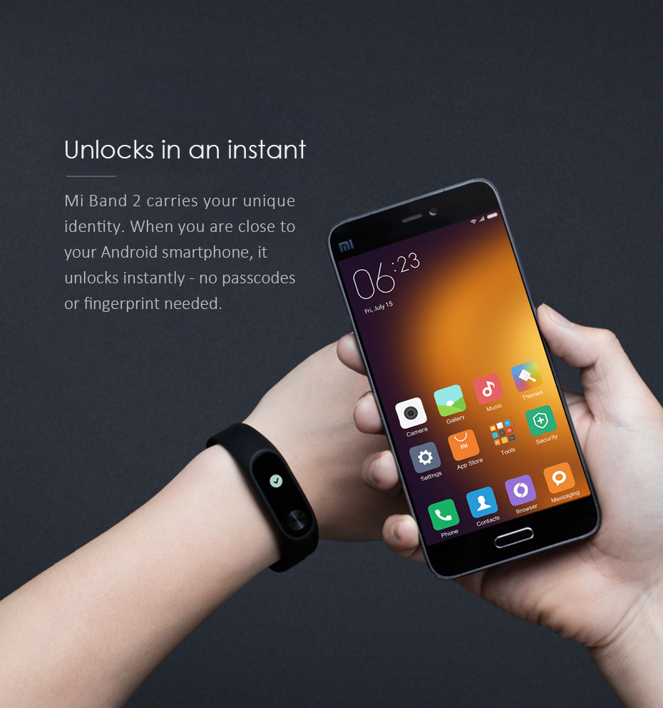 Original Xiaomi Mi Band 2 Wristband Optional Colorful Straps Sleep Tracker IP67 Waterproof Smart Mi Band For Android IOS Phones 9