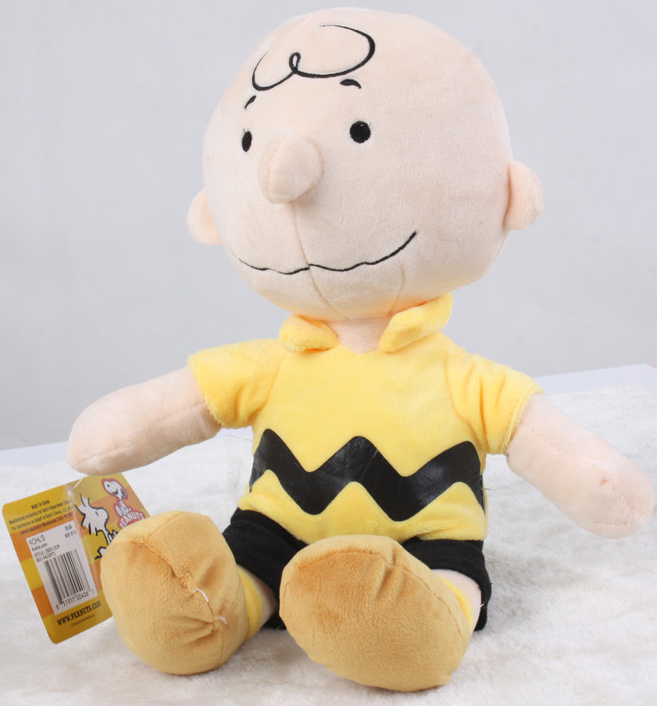 Peanuts Charlie Brown Kohls Cares Plush Doll Figure Toy 12 Inch In