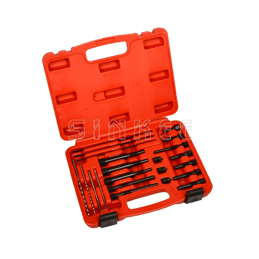Glow Plug Électrodes L'enlèvement Extraction M8 X 1.0 M10 X 1.0 M10 X 1.25 Glow Plug Outils De Réparation Ensemble SK1528