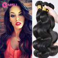 Queens Hair Products Malaysian Body Wave 3 Bundles Malaysian Body Wave Virgin Hair Bundles Malaysian Beach Wave Hair Extensions