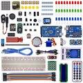 Kit de iniciación para uno y mega 2560/lcd1602/hc-sr04/HC-SR501 línea dupont en caja de plástico