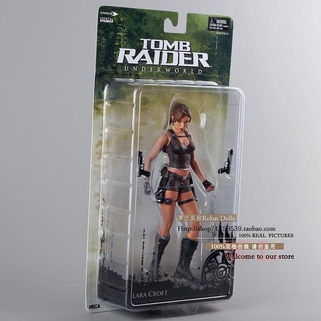 Wholesale 5pcs/pack Action Figure Toys Tomb Raider Lara Croft 18CM ...