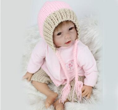 Genuine NPKDOLL 22 Inch silicone reborn baby dolls Hot imported silicone production of soft and delicate cute toys reborn babies production and purification of laccase from white rot fungi