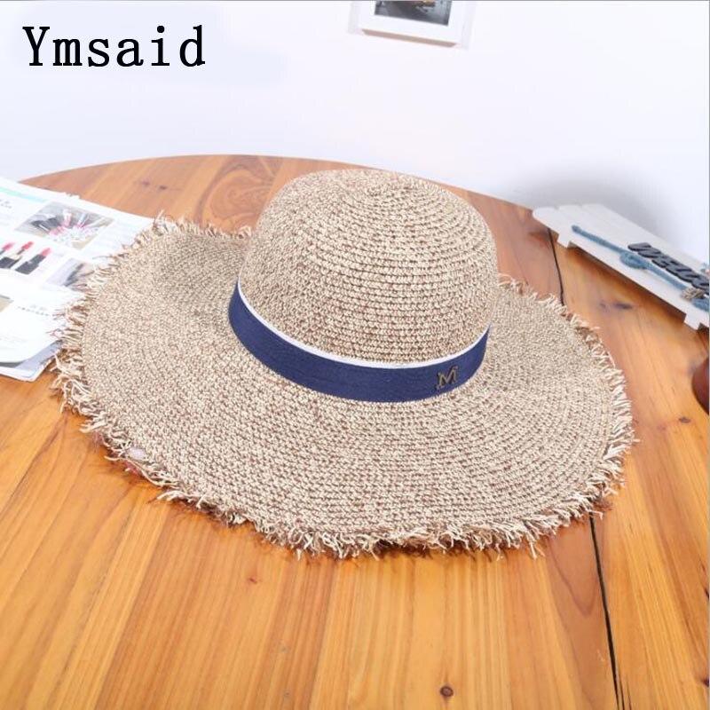 Ymdaid 2018 Venta caliente verano Sombreros para las mujeres letra m ...