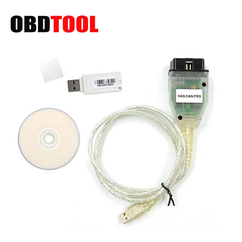 цена на VAG CAN PRO V5.5.1 CAN BUS+UDS+K-line OBD2 Diagnostic Cable for VW/Audi/Seat VAG PRO VCP 5.5.1 Better than VCDS JC20