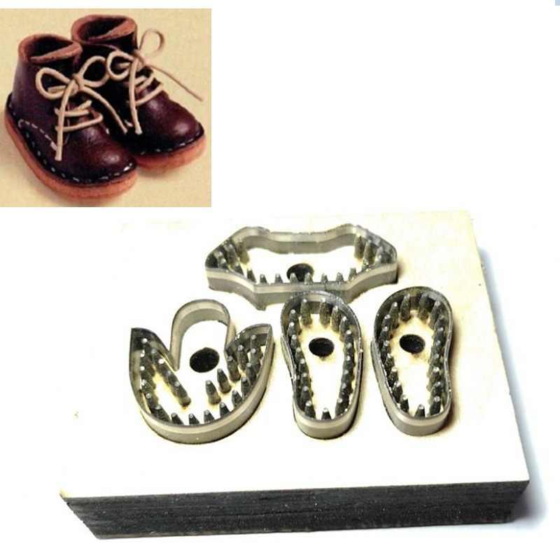 カスタムデザイン革パンチカッター金型切削ダイスクリシェツール diy 型革財布靴用バッグ