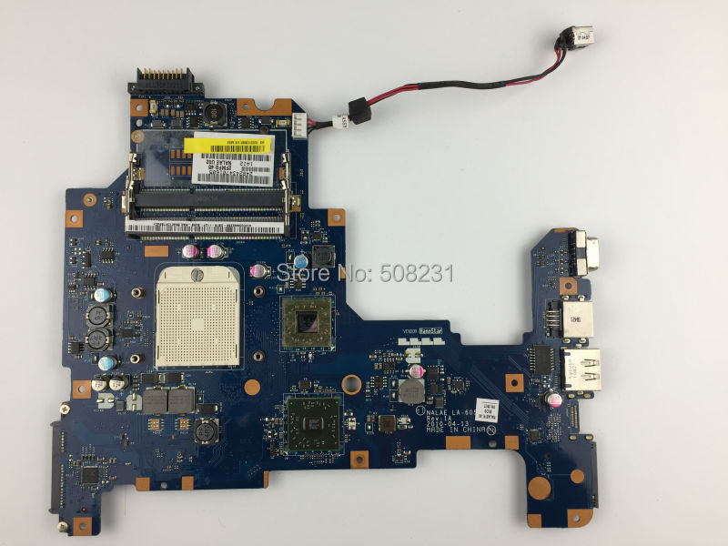 ФОТО Free shipping,LA-6053P K000103980 For TOSHIBA Satellite L670 L675D AMD Motherboard , All functions fully Tested !