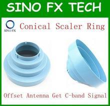 C banda Kit Anel Escalar Cônico de alumínio bracket sem lnb para antena parabólica offset antenas