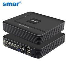Date Super HD 4MP AHD DVR H.264 4CH 8CH Mini Hybride CCTV DVR NVR HVR 5 en 1 Pour 4MP 3MP AHD/IP Caméra XMEYE P2P Onvif Smar