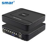 Mini AHDM DVR 8 Channel Onvif CCTV DVR Hybrid DVR 1080P NVR 3in 1 Video Recorder