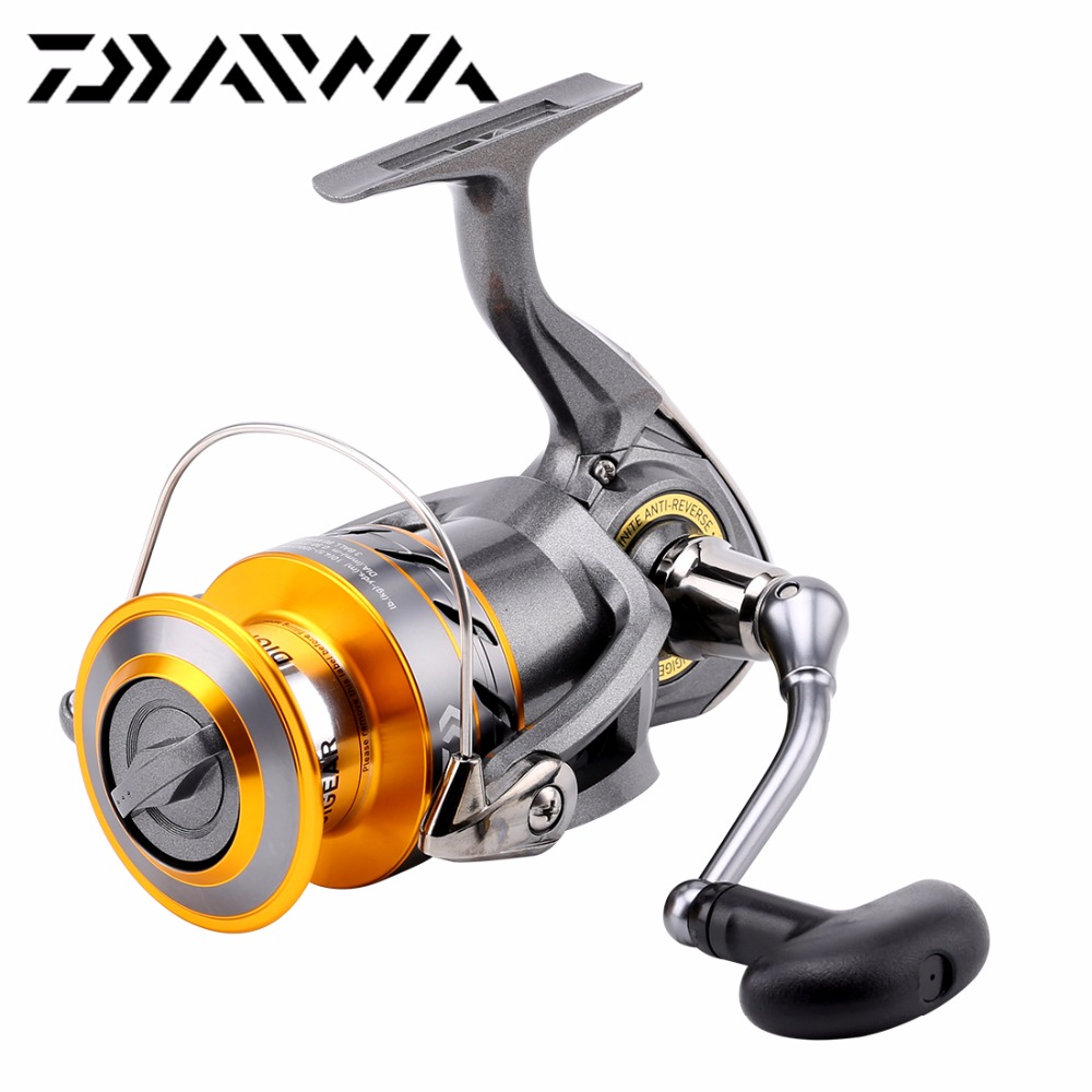 100 Original Daiwa Crossfire 2000 2500 3000 4000 Spinning Fishing Rel Reel 531 3bb Front Drag Long Cast Saltwater In Reels From Sports