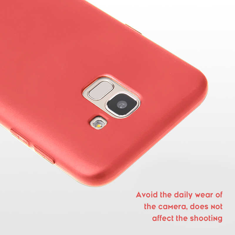Ultra Thin Candy Color Case for Samsung Galaxy J4 J6 Plus J2 Pro J8 J7 2018 J4 Core J5 J3 2017 J7 Duo Note 9 8 Silicone TPU Case
