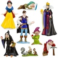 Free shipping PVC Princess Snow white and Seven Dwarfs Queen Prince Action Figure Play set (8 pcs/set )