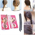 Fashion New Hair Braiding French Hair Roller With Hook Magic Twist Styling Braiding Tool Bun Maker Hair Accessories for woman