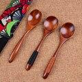 Кухонная деревянная ложка  Бамбуковая кухонная утварь  инструмент для супа  чайная ложка  совок для питания  кофе  десерт  посуда  чайная лож...